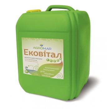 Біопрепарат Ековітал Agromar - інокулянт насіння гороху