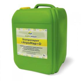 Біодеструктор для розкладання стерні та рослинних залишків АгроМар-D